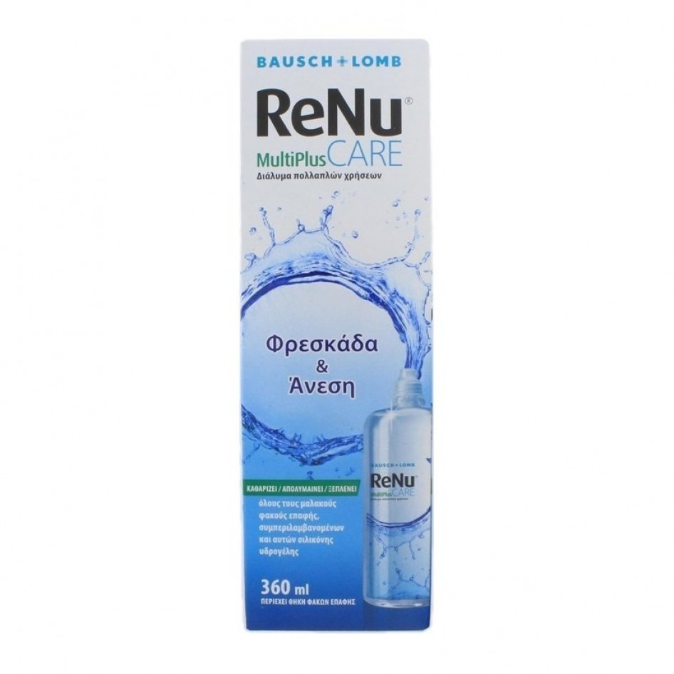 BAUSCH & LOMB RENU MULTIPLUS CARE ΥΓΡΑ Contact Lenses