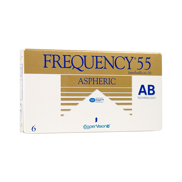 Frequency 55 Aspheric Μηνιαίοι 3pack