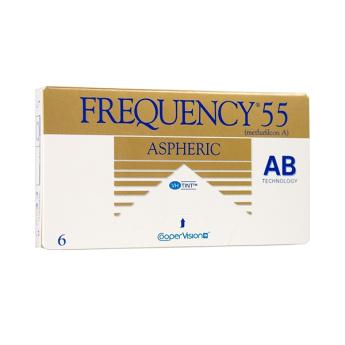 Φακοί επαφής Frequency 55 Aspheric Μηνιαίοι 6τμχ