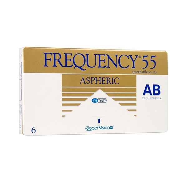 Cooper Vision Frequency 55 Aspheric Monthly 6pack